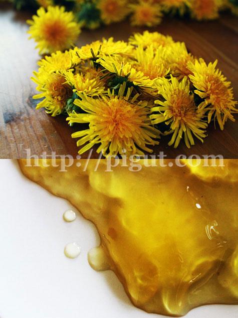 © PIGUT - Gelée de fleurs de pissenlits