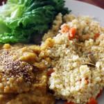 Millet aux Carottes et Lentilles Corail