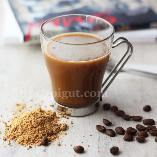 Café glacé végane