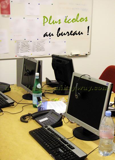 Ecolos au bureau