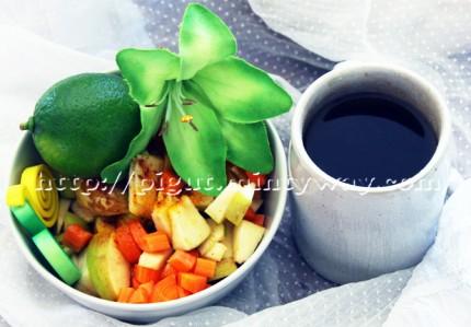 Forme Fruitée au Petit Déjeuner