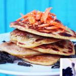 Vegan Pancakes Salés Carottes et Orties