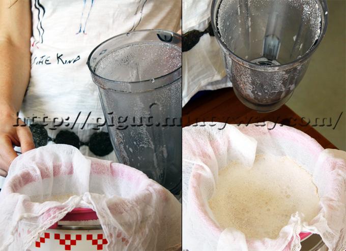 Technique de filtrage du lait