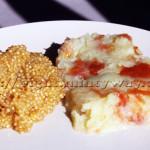 Patate Douce Rhubarbe & Gingembre en Compagnie de Quinoa au Lait Végétal