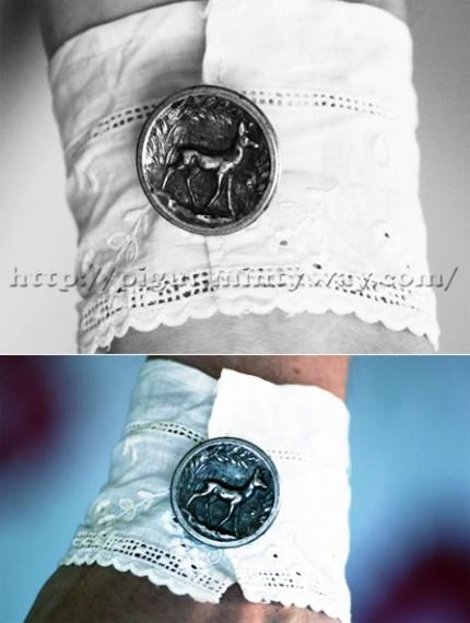 Création joli bracelet en tissu