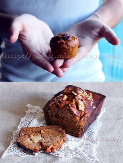 Différentes préparation pour un délicieux cake vegan