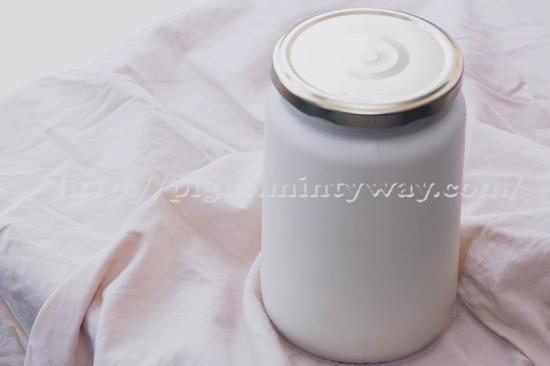 Yaourt de soja maison sans yaourtière