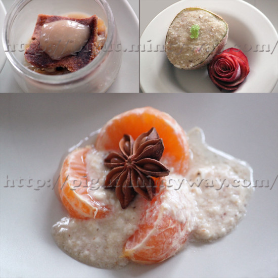 Assortiments de desserts
