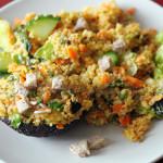 Salade Fraîche dans l'Esprit Fattouche Libanais