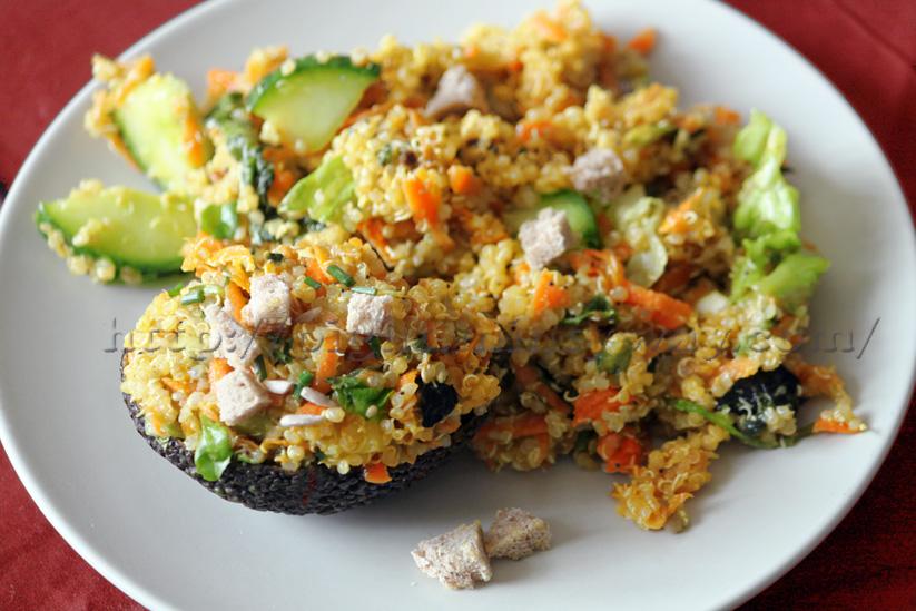 Salade dans l'esprit de la Fattouche Libanaise