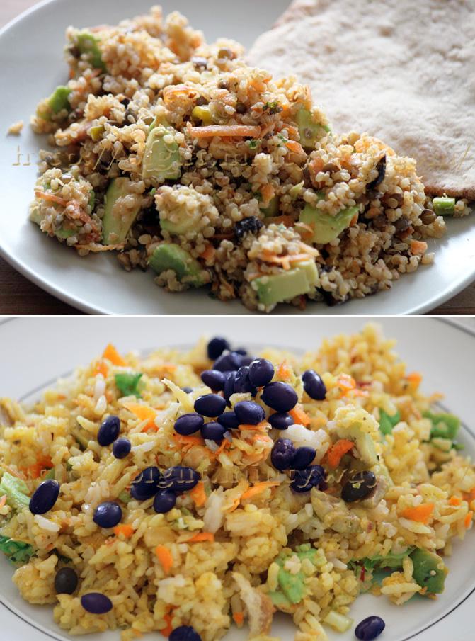 Salades Libres inspirée du fattouche libanais