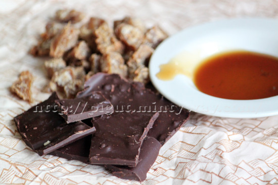 Bonbons, sirop et chocolat au gingembre