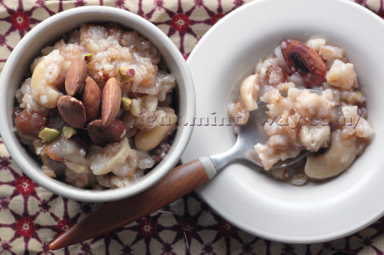 Porridge Végétal réconfortant aux saveurs indiennes