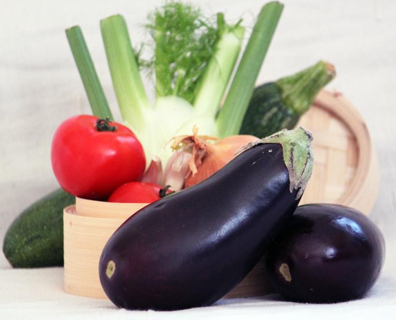 © PIGUT - Panier de légumes