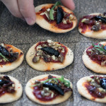 Mini pizzas apéritives