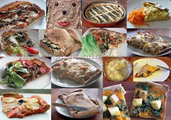 Diveses tartes végétaliennes