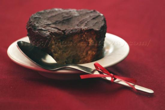Gâteau sans gluten, sans oeufs, sans lait