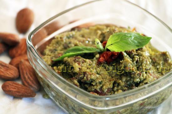 Pesto rouge et vert en version végétale