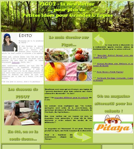 Newsletter mensuelle de Pigut