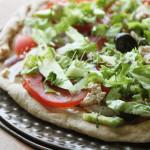 Pizza Fraîche aux Légumes Crus et Fromage d'Okara