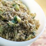 Salade de Chou Blanc Cru à l'Asiatique