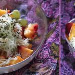 Salade Fruitée au Pâtisson Cru
