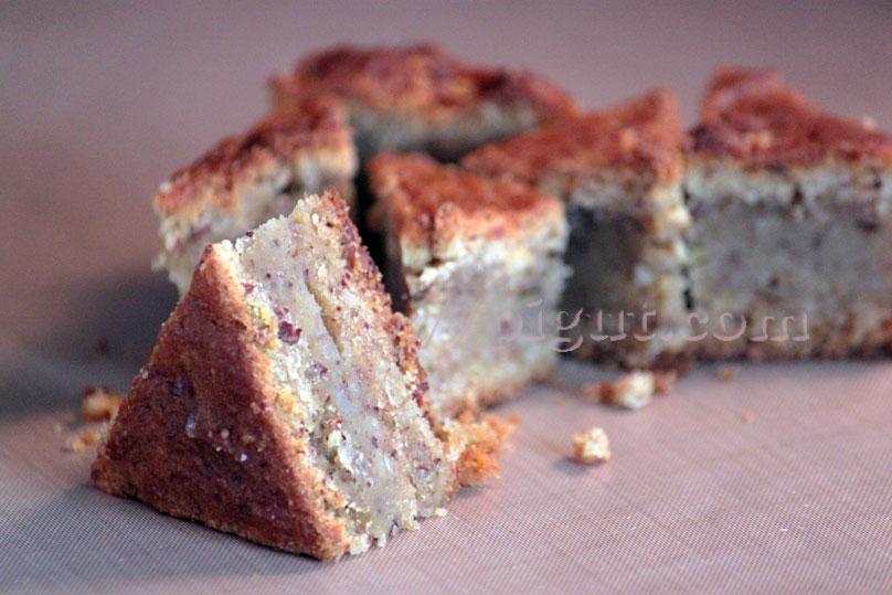 Gâteau vegan Mouelleux Patidou