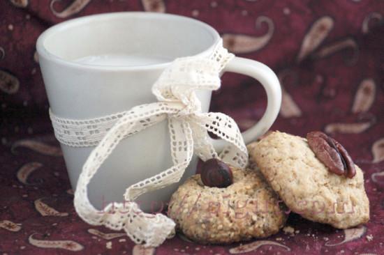 Biscuits vegan rustiques agréablement friables