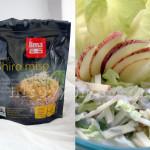 Salade de pomme et céleri avec dressing au miso