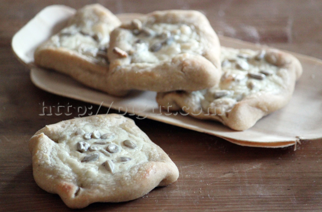 PIGUT : Tartelettes rustiques blanches