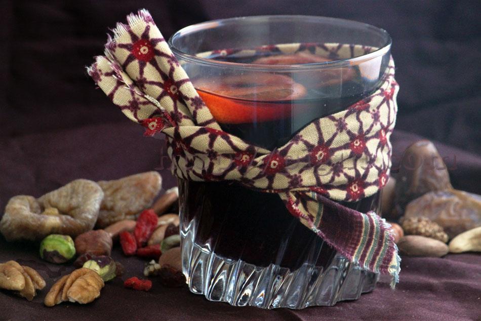 Jus de raisin épicé façon vin chaud