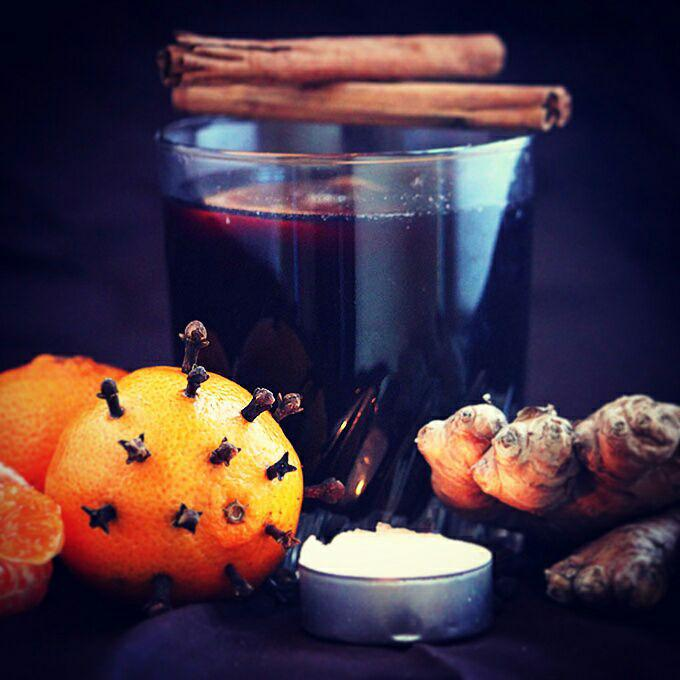 © PIGUT - Jus de raisin façon vin chaud