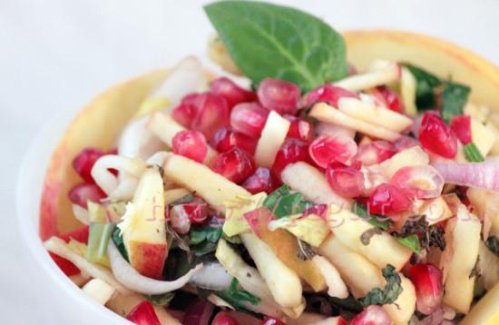 Salade Coup de Peps d'hiver à la grenade