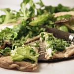 Pizza Blanche & Verte 100% Végétale