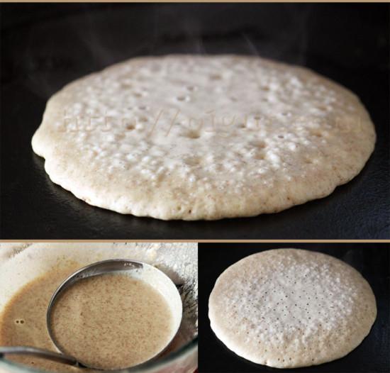 Préparer des pancakes sans lait sans oeufs