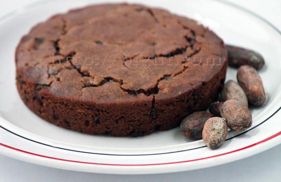 Fondant au chocolat léger sans gluten et vegan