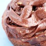 Glaçage pour cupcake vegan au chocolat