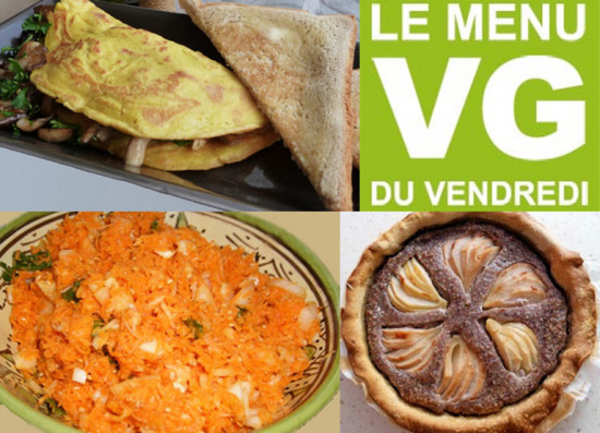 Menu Végétalien simple de mars