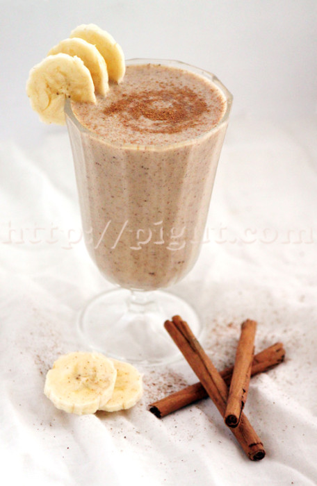 Smoothie réconfortant à la cannelle