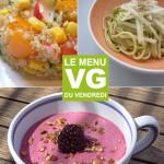 Menu VG – Repas pour Appeler les Beaux Jours