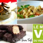 Menu VG – Repas Gourmand