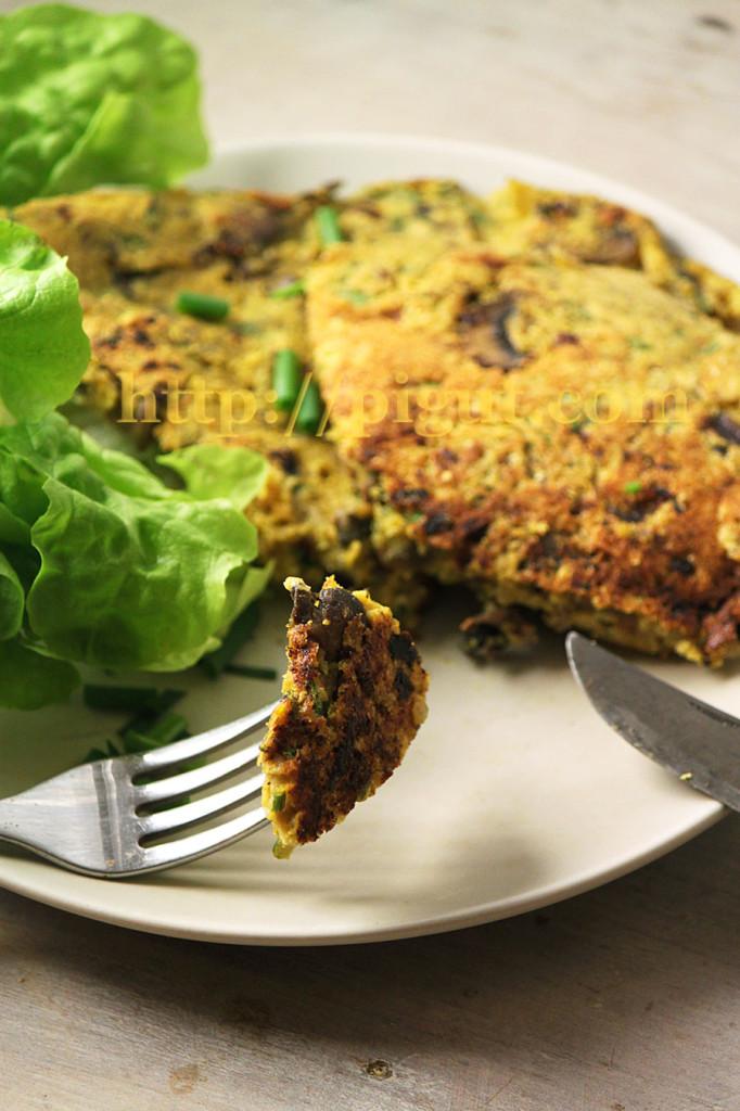 OmeletteChampignonsPIGUT