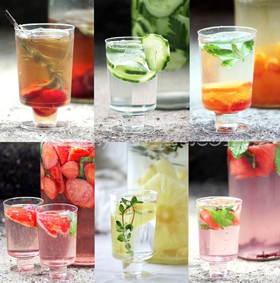 Eaux de fruits vitaminées