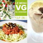 Menu VG – Repas Estival Tout Cru