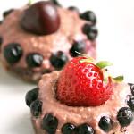 Irrésistibles Tartelettes Crues aux Bons Fruits d'Eté
