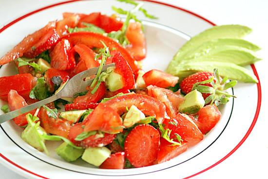 Dégustation de salade fraîcheur estivale