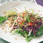 Salade d'inspiration thaï