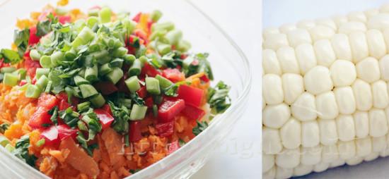 Végétaux pour préparation de beignets