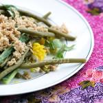 Urap / Salade de Légumes à la Noix de Coco Façon Javanaise