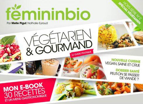 Magazine sur le végétarisme avec PIGUT
